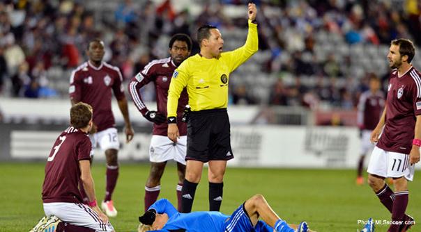 MLS referee
