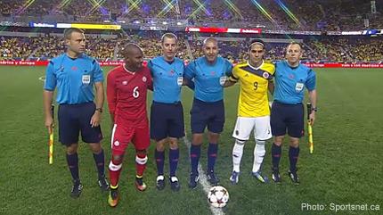Canada vs Colombia