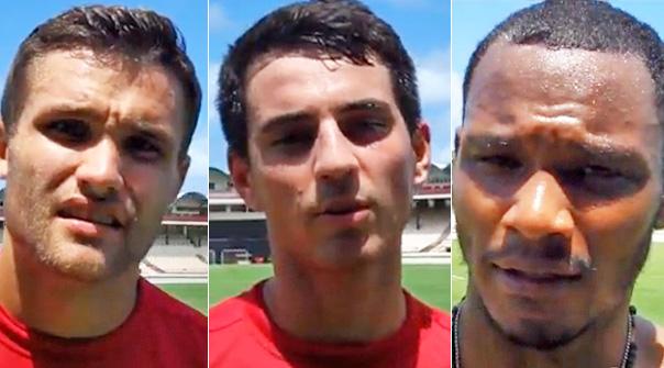 Adam Straith, Joseph Di Chiara, Julian de Guzman